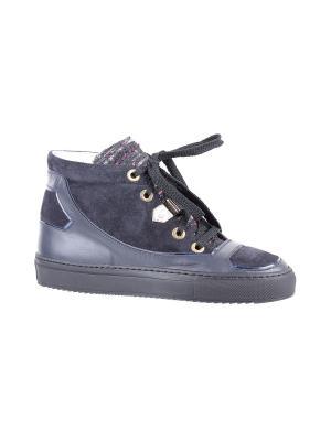 Ботинки NORMA J BAKER. Цвет: синий