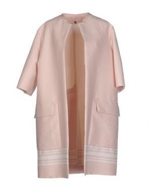Легкое пальто N_8. Цвет: светло-розовый