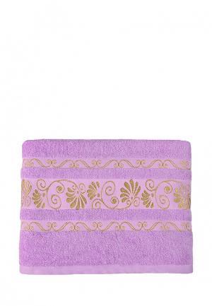 Полотенце Bonita. Цвет: фиолетовый