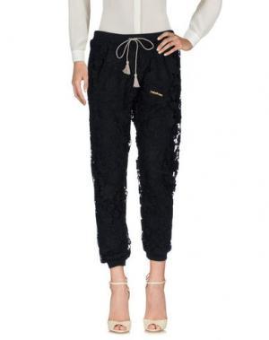 Повседневные брюки HAPPINESS. Цвет: черный