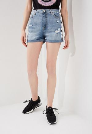 Шорты джинсовые Pinko. Цвет: голубой