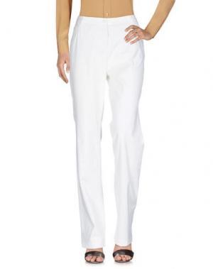 Повседневные брюки AKRIS PUNTO. Цвет: белый