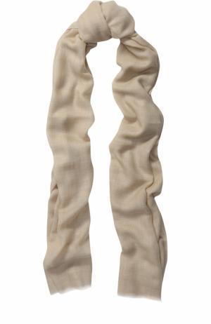 Кашемировый шарф Piacenza Cashmere 1733. Цвет: кремовый