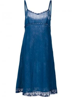 Платье Kymber Dosa. Цвет: синий