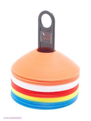 Набор фишек для тренировки Patrick. Цвет: синий, красный, желтый, белый