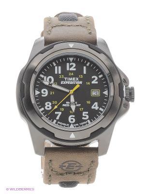 Часы TIMEX. Цвет: бронзовый