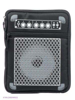 Чехол для iPad Guitar - B&W Kawaii Factory. Цвет: черный