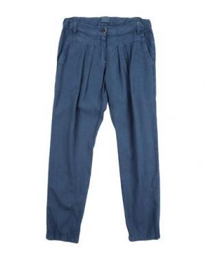 Повседневные брюки MORLEY. Цвет: темно-синий