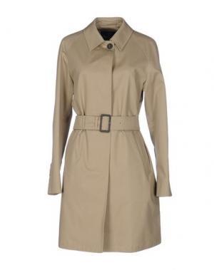 Легкое пальто AQUASCUTUM. Цвет: бежевый
