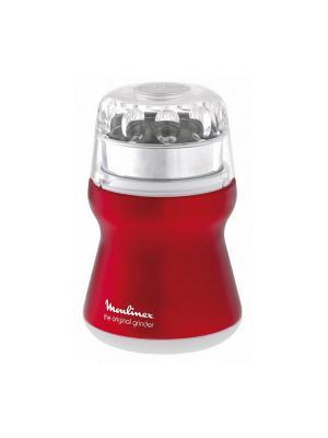 Кофемолка Moulinex AR110510 белый 180Вт. Цвет: красный