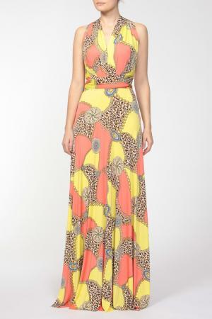 Платье Von Vonni. Цвет: желтый