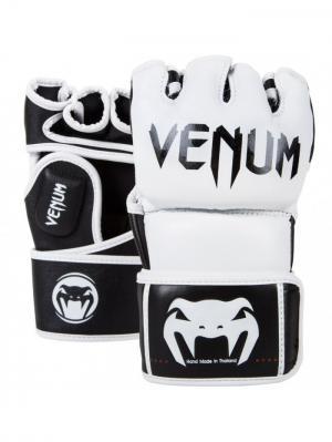 Перчатки ММА Venum Undisputed MMA Gloves - Nappa Leather White. Цвет: белый