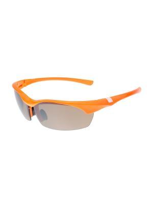 Солнцезащитные очки Gusachi. Цвет: оранжевый, черный