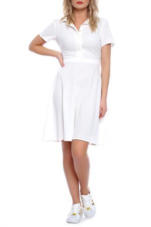 DRESS Emma Monti. Цвет: white