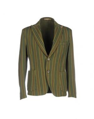 Пиджак JEY COLE MAN. Цвет: зеленый-милитари