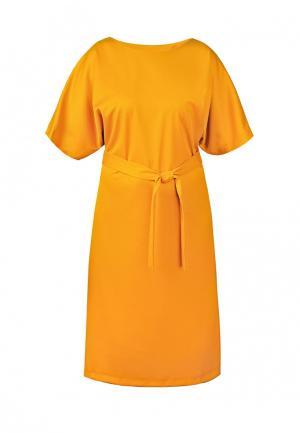 Платье Spicery. Цвет: оранжевый