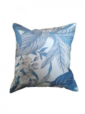 Декоративная подушка Летняя идиллия IZKOMODA. Цвет: синий, бежевый