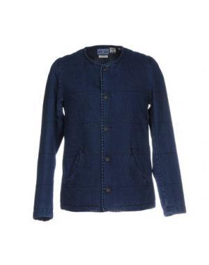 Джинсовая верхняя одежда BLUE JAPAN. Цвет: синий