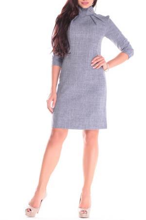 Платье Dioni. Цвет: дымчатый