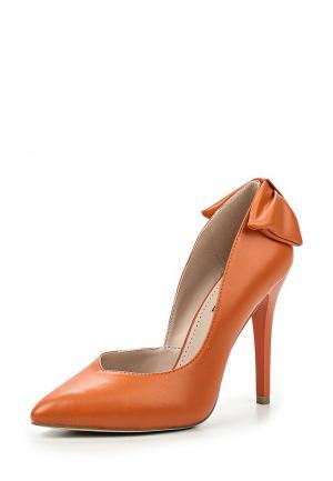 Туфли Inario. Цвет: оранжевый