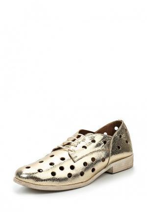 Ботинки D.Moro. Цвет: золотой
