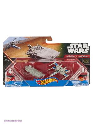 Hot Wheels Star Wars Ассортимент Звездных кораблей SW (упаковка из 2-х). Цвет: черный, серый