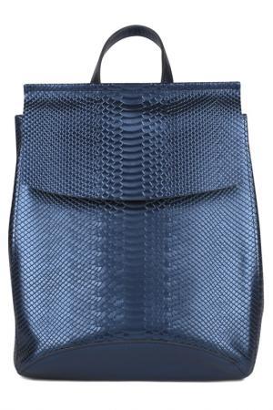Сумка-рюкзак ULA. Цвет: синий, металлик