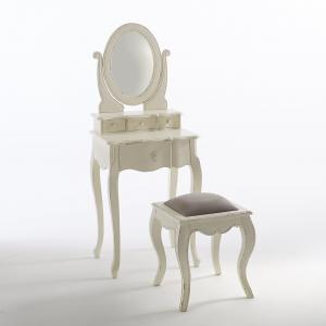 Табурет Trianon La Redoute Interieurs. Цвет: белый/ серый