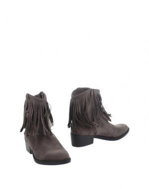 Полусапоги и высокие ботинки FRANCESCO MILANO. Цвет: светло-коричневый
