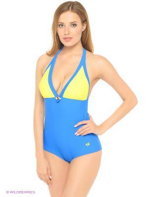 Купальный костюм FIANETA. Цвет: синий