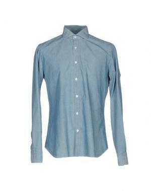 Pубашка DANDYLIFE BY BARBA. Цвет: синий