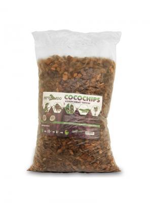 Субстрат Чипсы кокосовые 3л. REPTI-ZOO. Цвет: коричневый