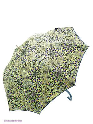 Зонт-трость Slava Zaitsev. Цвет: зеленый