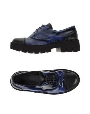 Обувь на шнурках WALLY WALKER. Цвет: черный