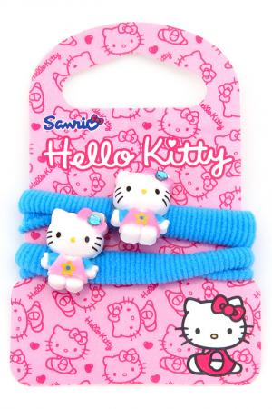Резинка махровая 2 шт. Hello Kitty. Цвет: синий
