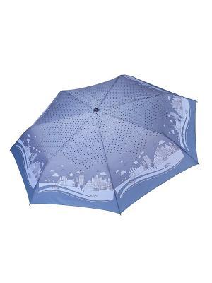 Зонт Fabretti. Цвет: голубой