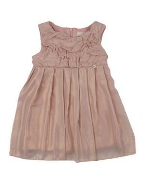 Платье MICROBE. Цвет: розовый