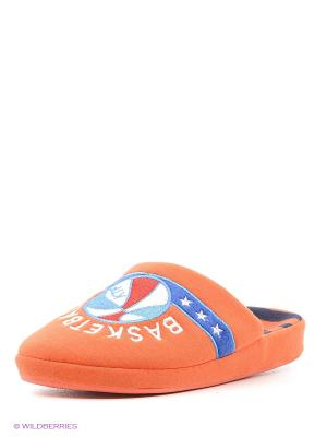 Тапочки Котофей. Цвет: оранжевый