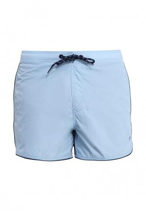 Шорты для плавания Blend. Цвет: голубой