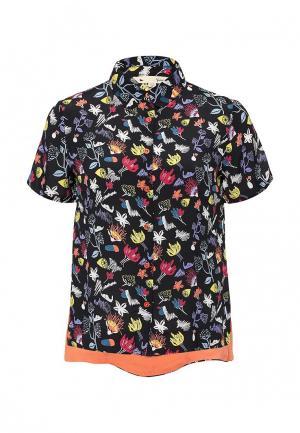Блуза Yumi. Цвет: разноцветный