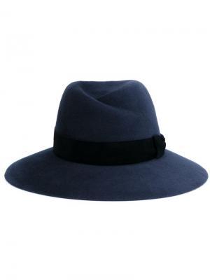 Фетровая шляпа Virginie Maison Michel. Цвет: серый