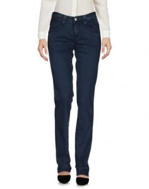 Повседневные брюки CARLO CHIONNA. Цвет: темно-синий