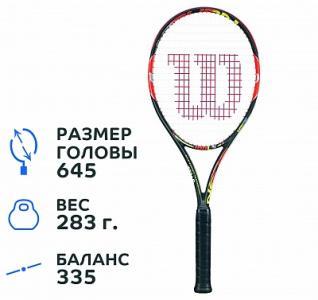 Ракетка для большого тенниса  Burn 100LS Wilson