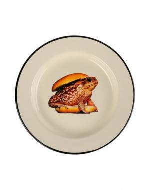 Блюдо SELETTI WEARS TOILETPAPER. Цвет: слоновая кость