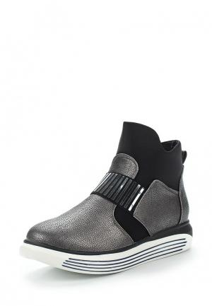 Ботинки Vitacci. Цвет: серый