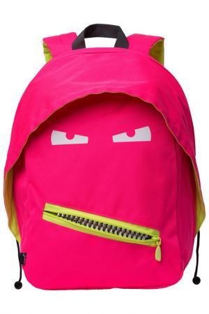 Рюкзак GRILLZ BACKPACKS ZIPIT. Цвет: розовый неон