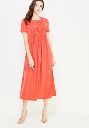 Платье IMAGO. Цвет: коралловый