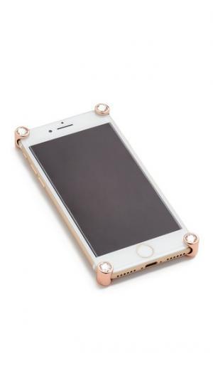 Уголки с кристаллами для iPhone 7 и Plus Corners4