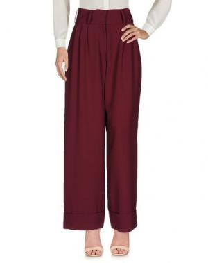 Повседневные брюки SOHO DE LUXE. Цвет: баклажанный