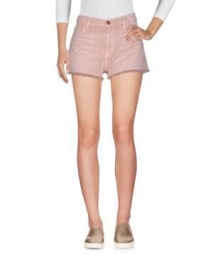 Джинсовые шорты CURRENT/ELLIOTT. Цвет: песочный